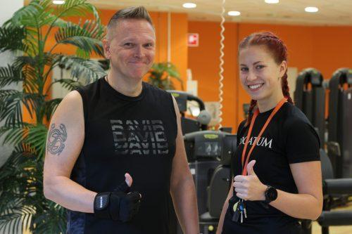 Raimo Näsi ja Pauliina Kytölinna